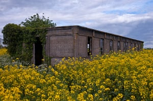Lost USAAF art: Derelict accommodation block