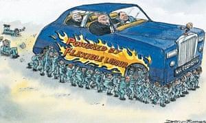 David Simonds cartoon on UK's labour market