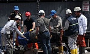 Rescue operations continue at the Soma coalmine in Turkey
