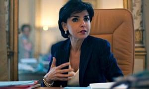 Rachida Dati, mayor of the 7th arrondissement in Paris.