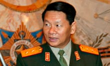 Laos defence minister Douangchay Phichit in 2004