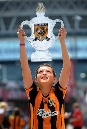 cup final: Hull Fan