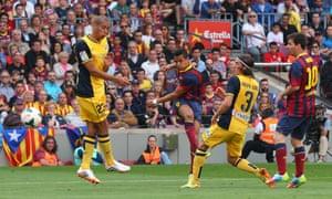 Alexis Sanchez Barcelona goal