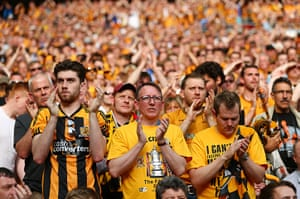 fa cup final gallery: Hull City fans