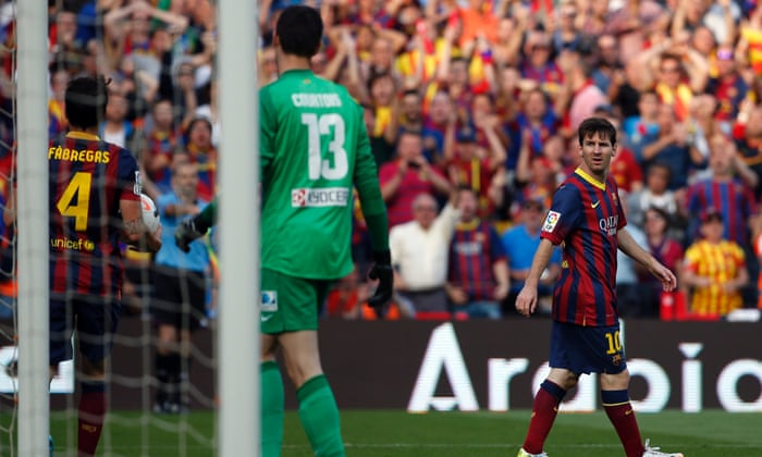 50eed787e Atlético Madrid win La Liga after 1-1 draw at Barcelona – as it happened