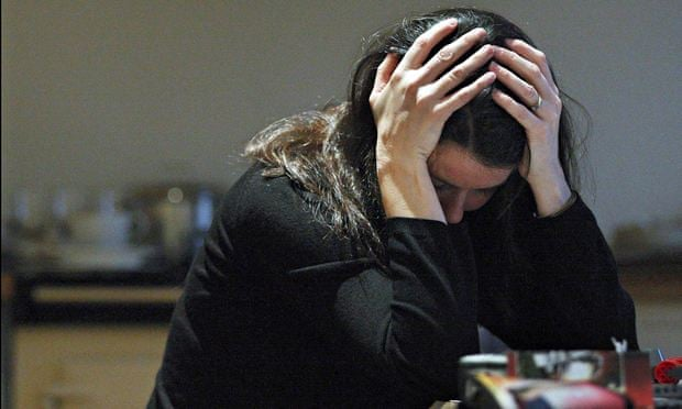 anxiety woman More Britons feel anxious - charity