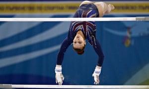Downie takes gold on bars in European Artistic Gymnastics