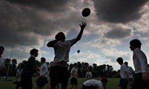 Rugby training at Eton college