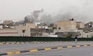 Gunmen storm Libyan parliament amid anti-government uprising