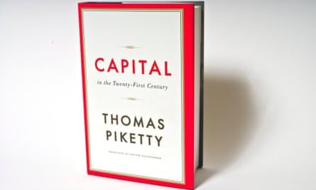 Capital by Thomas Piketty. Photo by Sarah Lee For G2 book