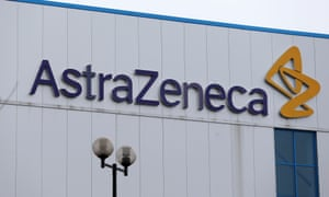 The entrance to AstraZeneca's Macclesfield plant.