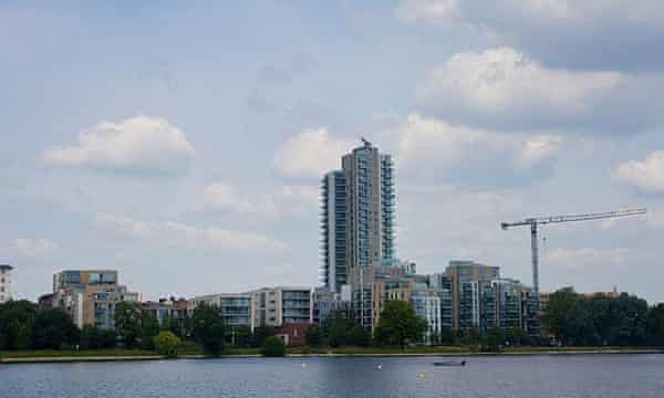 Woodberry Park, east London.