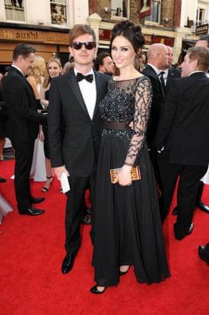 Sophie Ellis-Bextor and husband Richard Jones