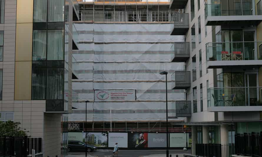 Woodberry Down regeneration project.