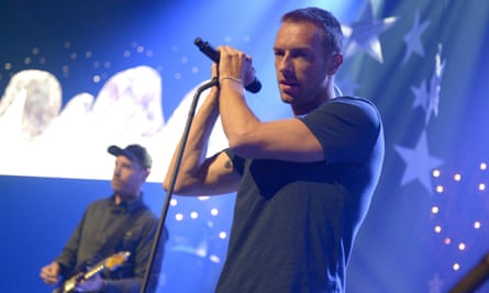 Coldplay's new album Ghost Stories isn't yet on Spotify.