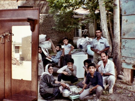 Nomads drinking tea