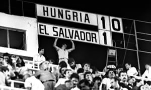 El Salvador's misery is complete after Hungary inflicted the biggest defeat of any World Cup ever.