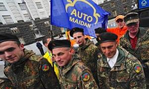 Auto Maidan Protest