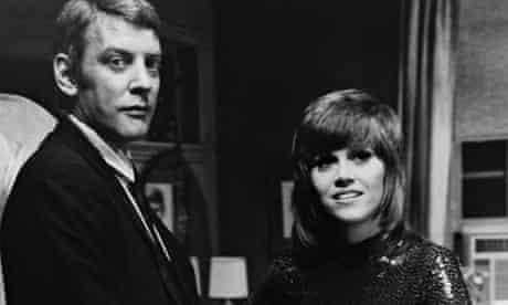 Donald Sutherland and Jane Fonda in Klute, 1971.