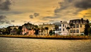 Historic Charleston - Battery at Sunset