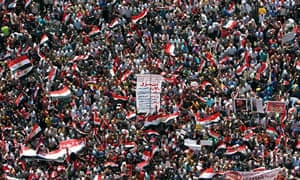 Egyptian opposition protest in Cairo
