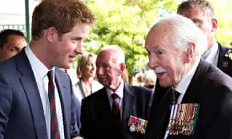 prince harry attends monte cassino commemorations