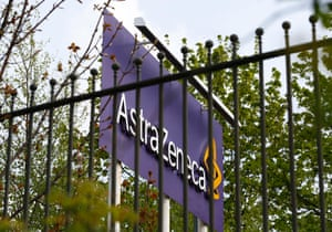 A sign is seen at an AstraZeneca site in Macclesfield, central England April 28, 2014