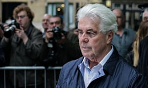 Max Clifford at Southwark crown court in London