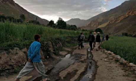 Residents of Badakhshan province of Afghanistan,