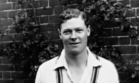England batsman Percy Chapman circa 1922