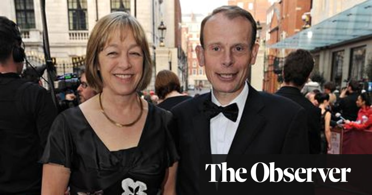 My husband Andrew Marr missed the warning signs of his