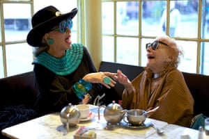 Advanced Style: Lynn Dell Cohen with Ilona Royce Smithkin