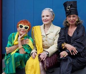 Advanced Style: Ilona, Joyce and Lynn Dell