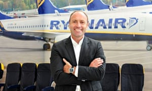 Kenny Jacobs, Ryanair's new chief marketing officer.