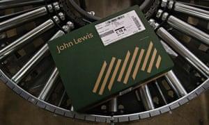 John Lewis parcel