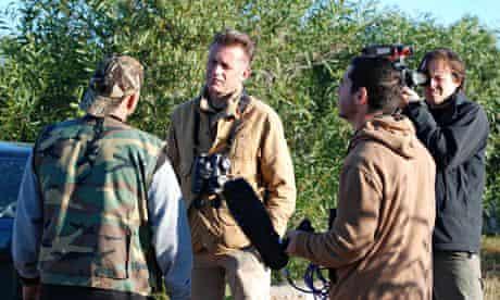 Chris Packham confronts a Maltese hunter