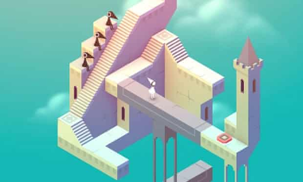 Apple says Monument Valley was the best iPad game of 2014.