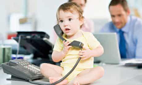 Baby remote worker