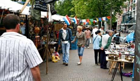 Waterlooplein market.