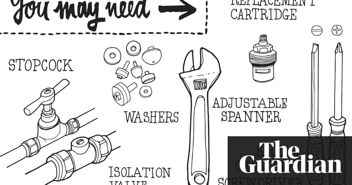 How to mend a dripping tap | Life and style | The Guardian