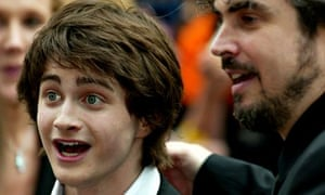 Daniel Radcliffe and director Alfonso Cuaró