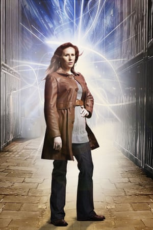Catherine Tate as Donna Noble.