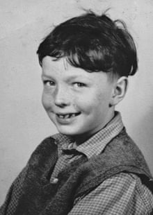 Alan Johnson at Bevington primary school c1958