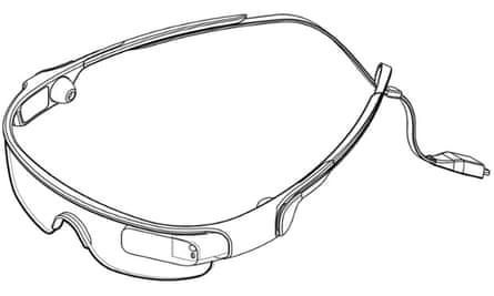 Samsung Smartglasses patent