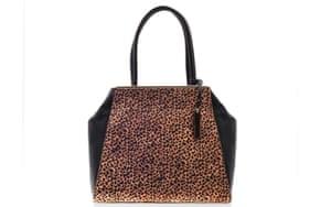 15 handbags under £150: 15 handbags under £150 - brown & black mini animal print by Vince Camuto