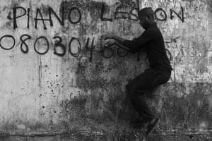 Abraham Oghobase Untitled 2012, Lagos, Nigeria  Series: Untitled 2012