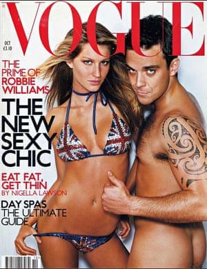 Robbie Williams Vogue