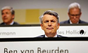 Royal Dutch Shell annual general shareholders meeting