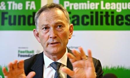 Richard Scudamore, chief executive of the Premier League