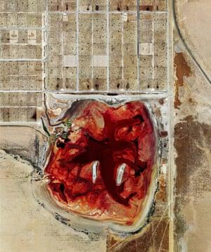 Mishka Henner Coronado Feeders 2013, Dalhart, Texas, United States Series: Beef & Oil